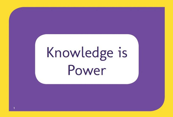 Knowledge is Power cover
