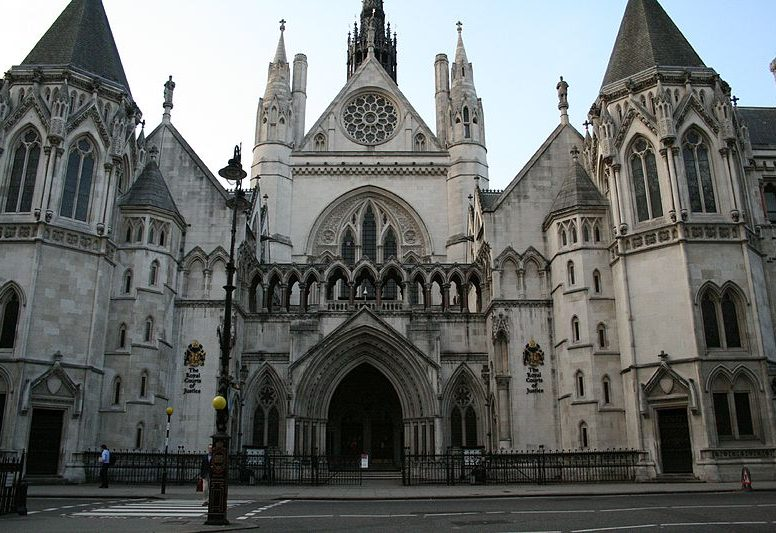 The Royal Courts of Justice, exterior
