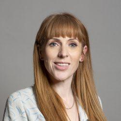 Angela Rayner MP by David Woolfall