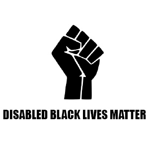 Disabled Black Lives Matter logo